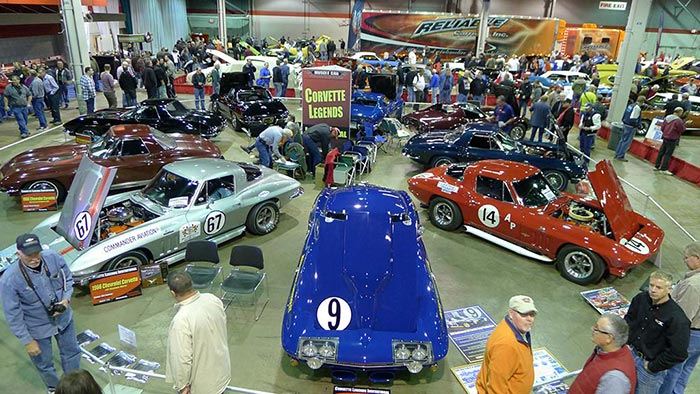 The 2017 Muscle Car And Corvette Nationals Show Set For November