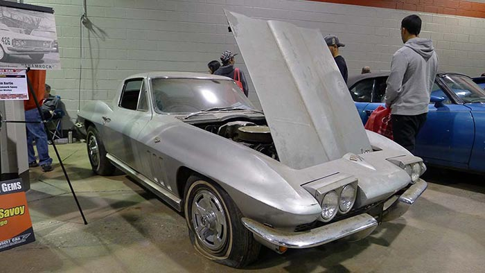[POLL] What Would You do With this Barn Fresh 1966 Corvette?