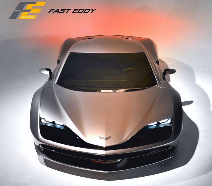 Aria Group's Fast Eddy Mid-Engine Corvette is a Design Concept We Can Get Behind