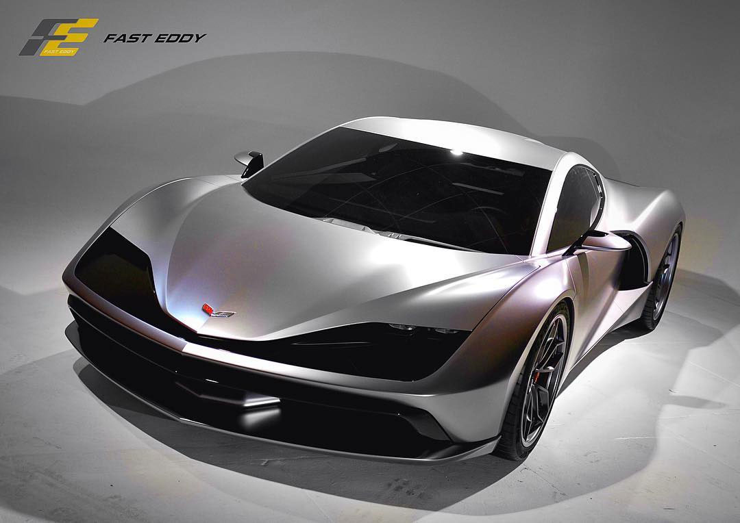 Aria Group's Fast Eddy Mid-Engine Corvette is a Design ...