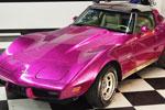 Corvettes on eBay: Custom Disco Purple 1979 Corvette