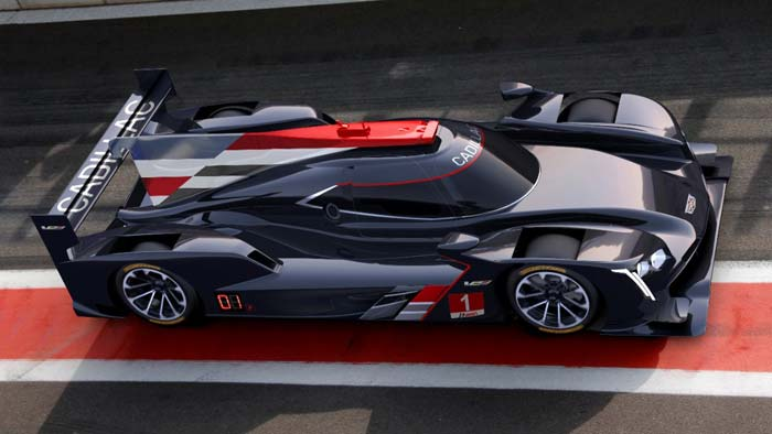 Cadillac Returns to IMSA Prototype Racing with the Cadillac DPi-V.R