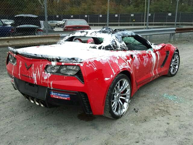 Pics was this corvette z06 vandalism triggered by a trump bumper sticker