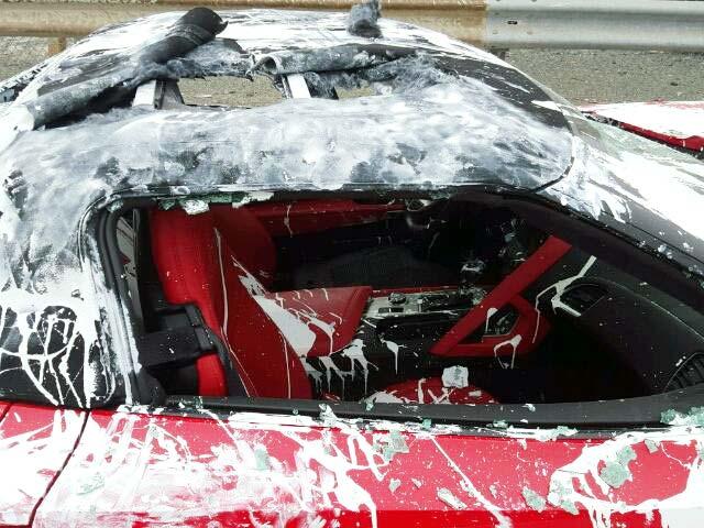 [PICS] Was this Corvette Z06 Vandalism Triggered by a Trump Bumper Sticker?