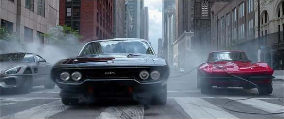 C2 Corvette Spotted in the 'The Fate of the Furious' Movie Trailer