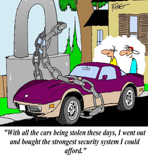 Saturday Morning Corvette Comic: Extreme Security Measures, Part 2