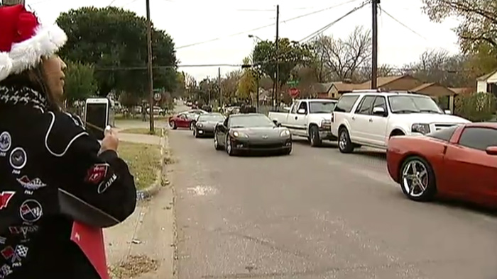 Dallas Corvette Club Steps Up to Help Elderly Scam Victim