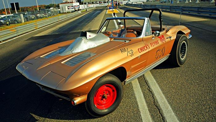 1963 Corvette Racer Resurrected After 50 Year Hibernation