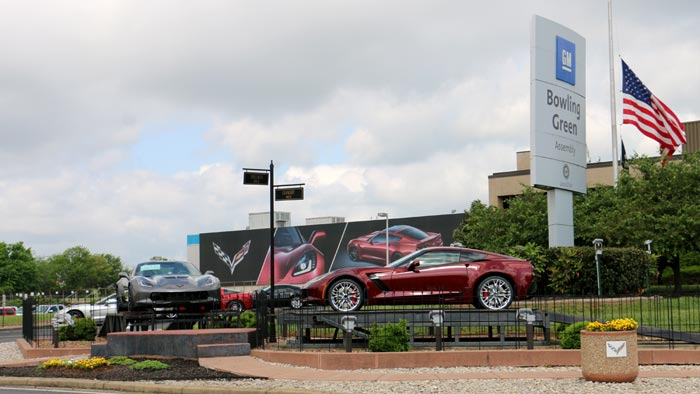 GM to Shut Down Corvette Assembly Plant For One Week as Sales Slow