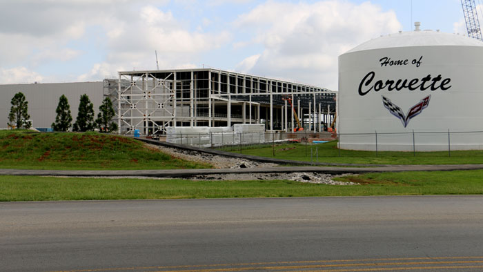 The Temporary Shut Down of the Corvette Assembly Plant is Due to Maintenance and Construction Work