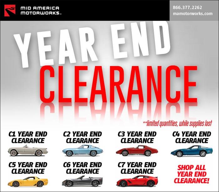 Mid America Motorworks >> Shop Mid America Motorworks Year End Clearance Sale Corvette