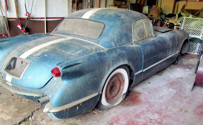[PICS] Former GM Engineer Rescues a Barn Find 1955 Corvette Stored for 48 Years