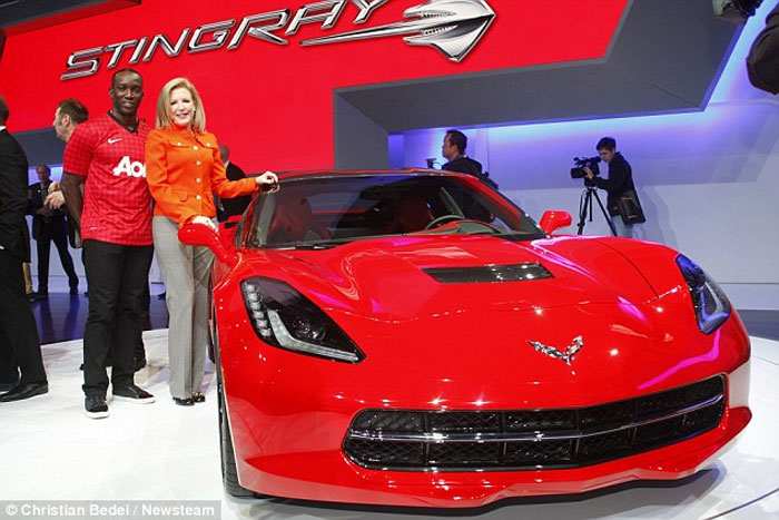 Manchester United Soccer Star Loses License for Speeding in His Corvette Stingray
