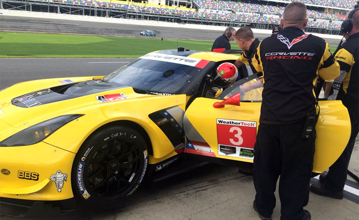 [PICS] Corvette Racing Reveals 'Made in America' Livery at Roar Before the 24