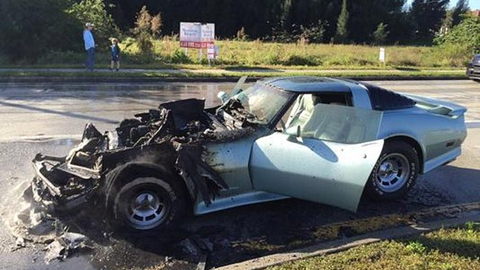 [ACCIDENT] C3 Corvette Catches Fire in Florida