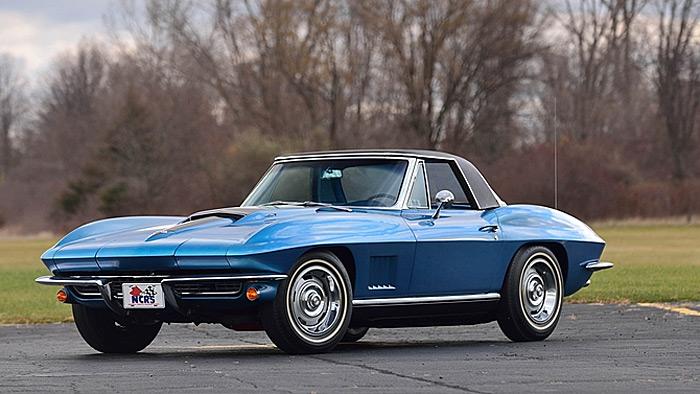 Lot #S113 - 1967 Corvette Roadster