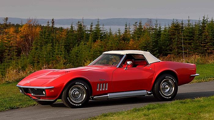 Lot #T188 - 1969 Corvette Roadster