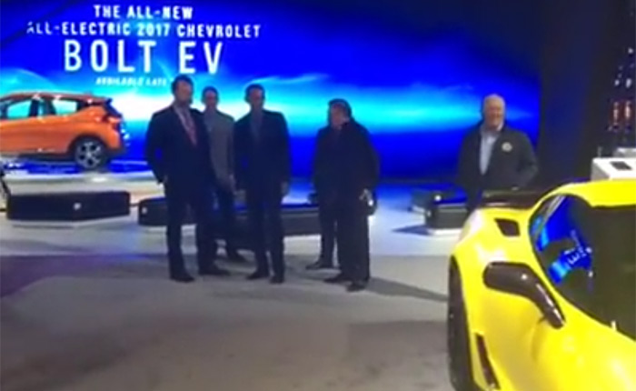 [VIDEO] President Obama on the Corvette Z06 C7.R at NAIAS: