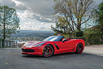 [PICS] Red Hot Callaway Corvette Z06 Convertible on Forgiato Wheels