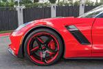 [PICS] Red Hot Callaway Corvette Z06 Convertible on Forgiato Wheels