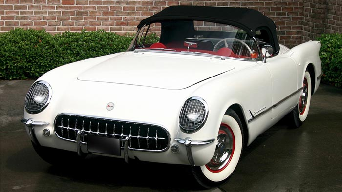 The Last Hand-Built 1953 Corvette with VIN 300 to be Offered at Barrett-Jackson