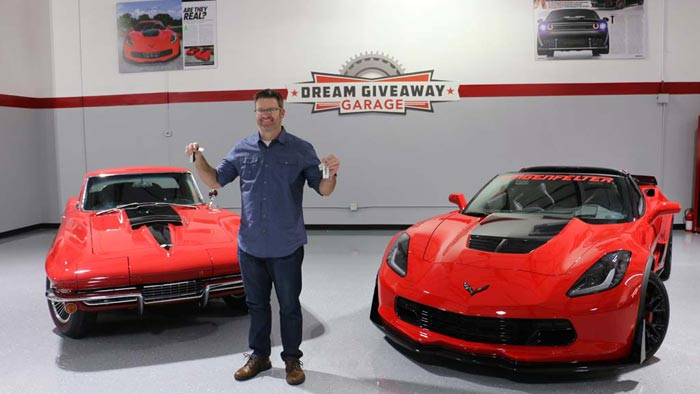 Utah Man Wins Two Corvettes Plus Cash in the Corvette Dream Giveaway