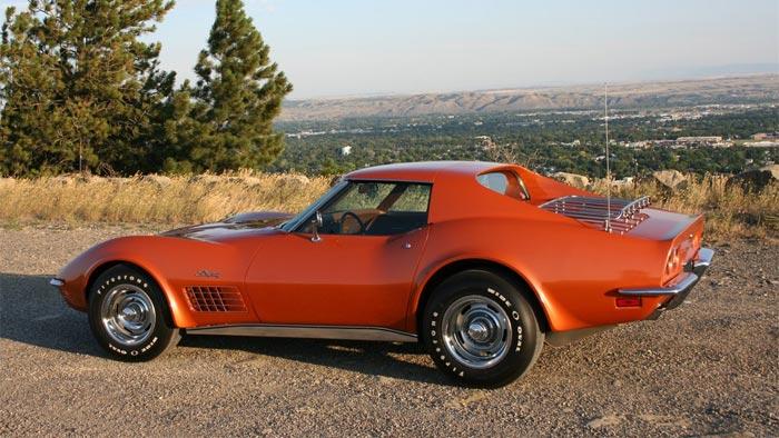 1972 Corvette in Ontario Orange