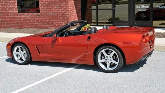 2005 Corvette in Daytona Sunset Orange Metallic