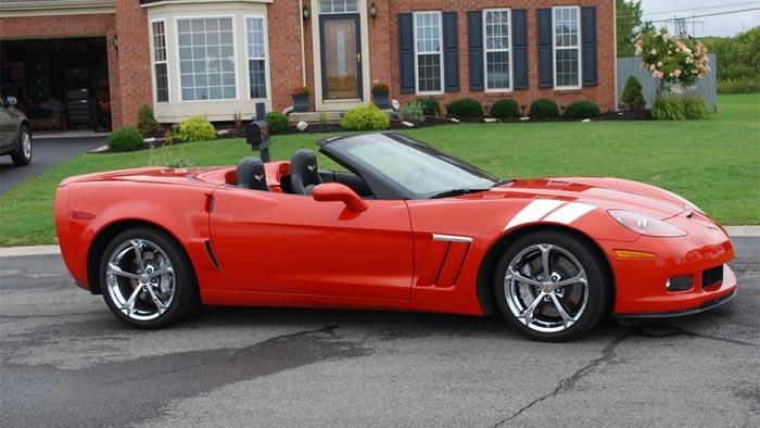 2008 Corvette in Atomic Orange