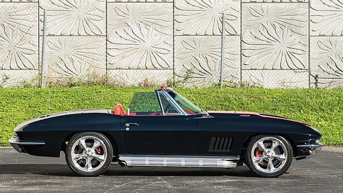 Top ten corvette sales at mecum 39 s kissimmee 2016 auction for 1964 corvette split window coupe