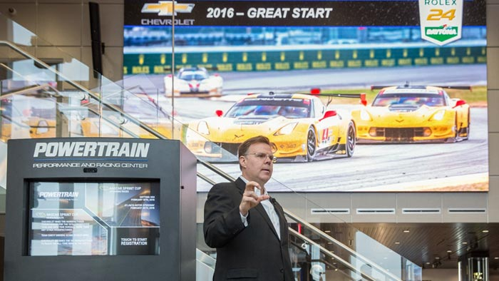 Jim Campbell, GM U.S. vice president of Performance Vehicles and Motorsports