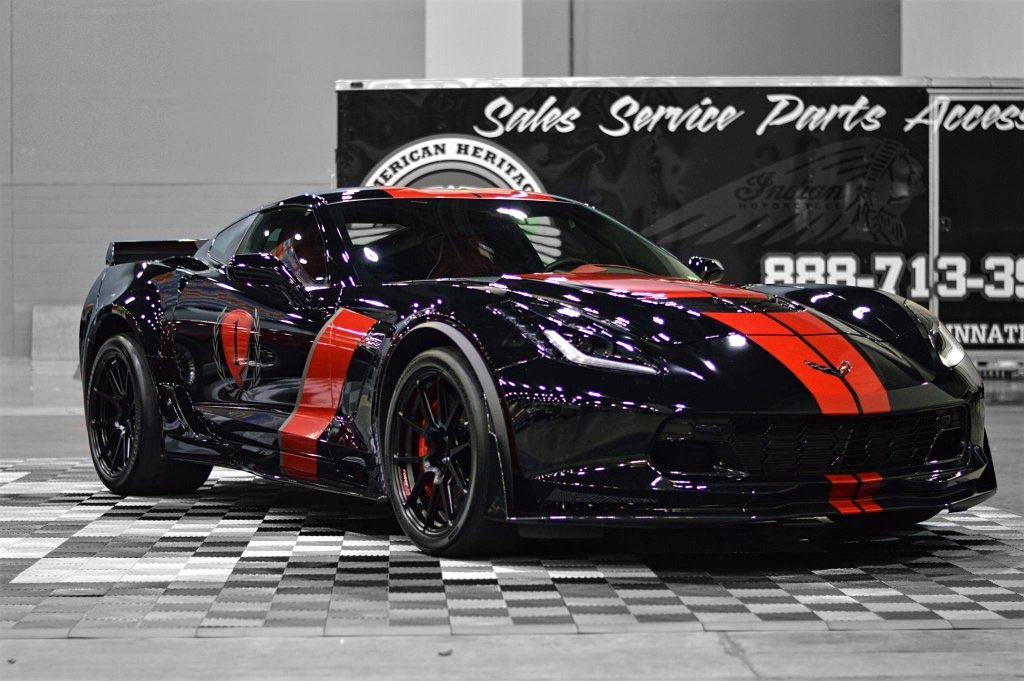 PICS] Track-Prepped C7 Corvette Z06 on Forgeline GA1R Monoblock ...