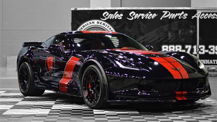 [PICS] Track-Prepped C7 Corvette Z06 on Forgeline GA1R Monoblock Wheels