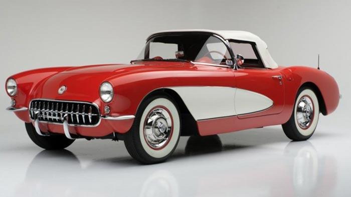 Rick Hendrick Buys the VIN 001 Collection of 1955-1957 Corvettes at Barrett Jackson