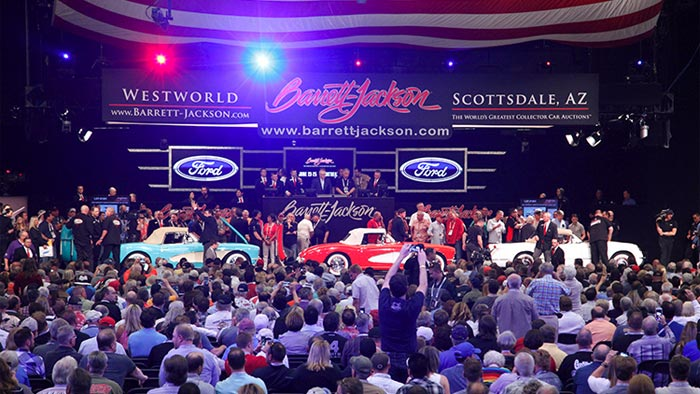Rick Hendrick Buys the VIN 001 Collection of 1955-1957 Corvettes at Barrett Jackson