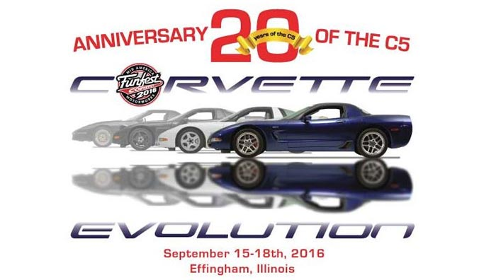 Mid America Motorworks' Corvette Funfest 2016 to Celebrate 20th Anniversary of C5
