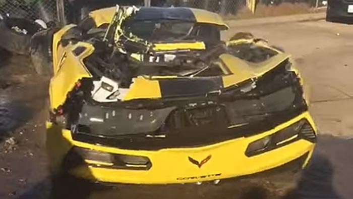 [VIDEO] 2016 Corvette Z06 C7.R is Totaled Hours After Delivery