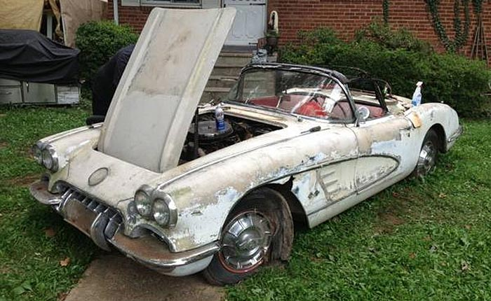 Corvettes on Craigslist: 1960 Corvette Fresh from the Barn