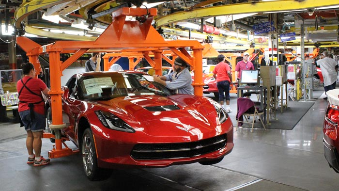 Important Production Dates for 2016 and 2017 Corvette