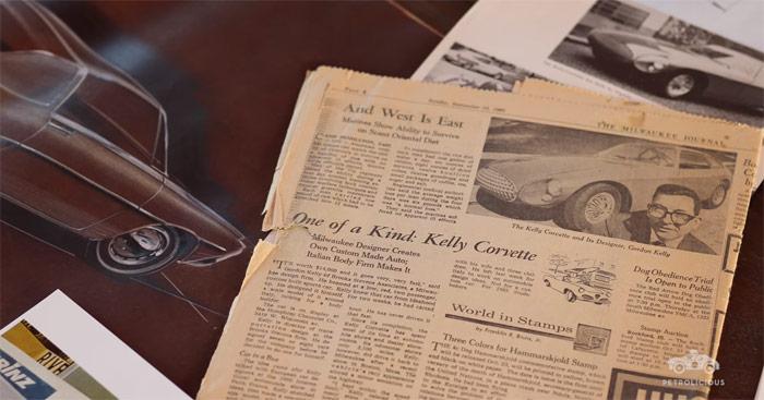 Amazing Kelly Corvette is a European Coachbuilt 1961 Corvette