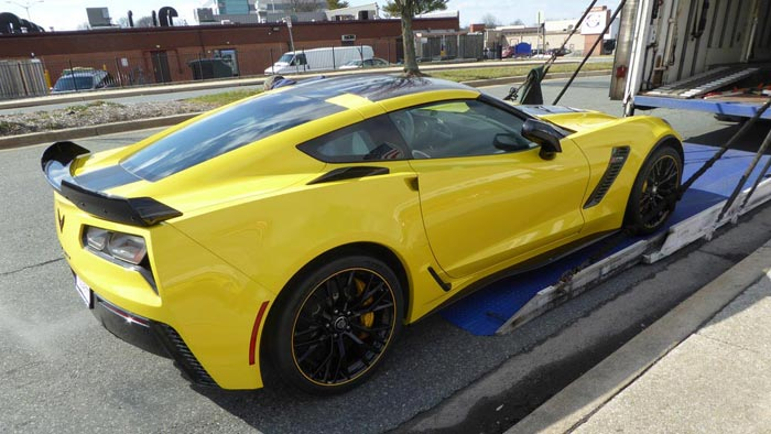 Corvette Delivery Dispatch with National Corvette Seller Mike Furman for Week of February 14th