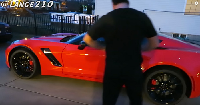 [VIDEO] Vine Star Lance Stewart Surprises His Dad with a 2016 Corvette Z06