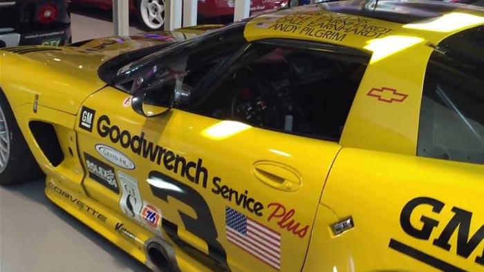 [VIDEO] Dale Earnhardt Sr. and the Corvette C5R He Raced at Daytona