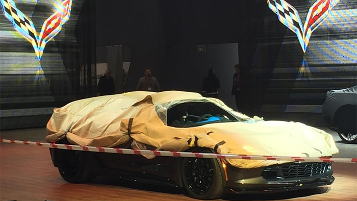 [PIC] Is This the New C7 Chevrolet Corvette Grand Sport?