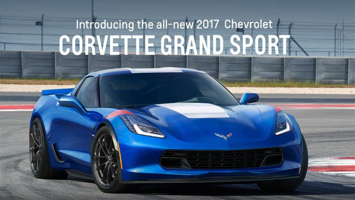 Chevrolet's 2017 Corvette Grand Sport's Website Points to ...