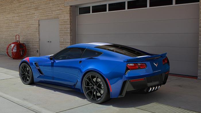 Chevrolet's 2017 Corvette Grand Sport's Website Points to Future Offerings