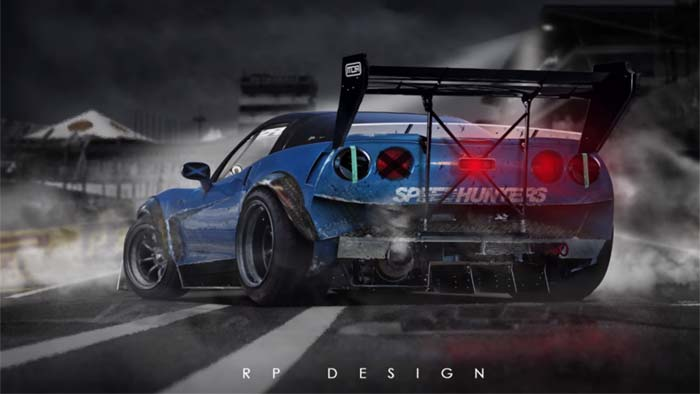 [VIDEO] Watch a Time Lapse Rendering of this Corvette ZR1