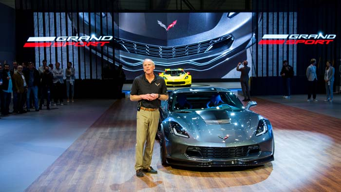 [VIDEO] Watch the Reveal of the 2017 Corvette Grand Sport from Geneva