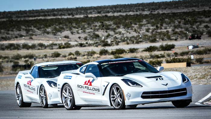 [PICS] NASCAR's Kurt Busch Drives the Corvettes at Spring Mountain