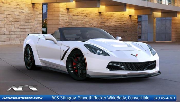 ACS Offers New Bolt-On Widebody Kit the C7 Corvette Stingray